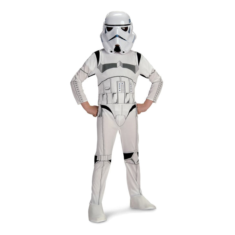 Stormtrooper Barn Maskeraddräkt - Large