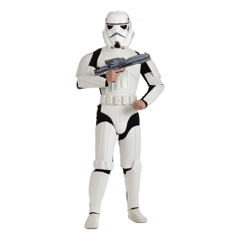 Maskeradkläder Vuxna - Stormtrooper Deluxe  - Standard