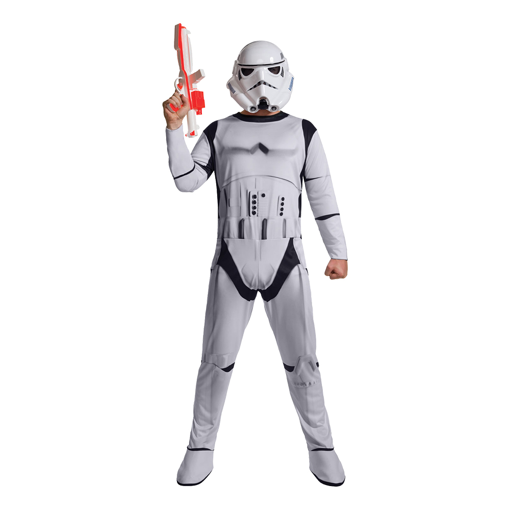 Maskeradkläder Vuxna - Stormtrooper Budget  - Standard