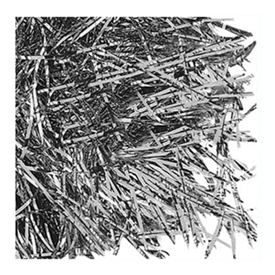 Strimlat Papper - Silver