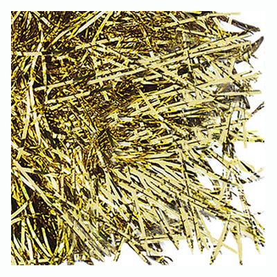 Strimlat Papper - Guld
