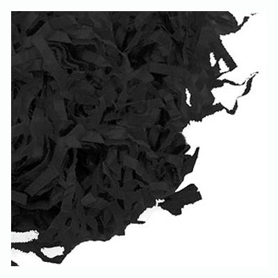 Strimlat Papper - Svart
