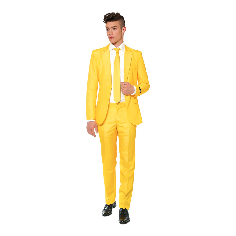Suitmeister Gul Kostym - 46