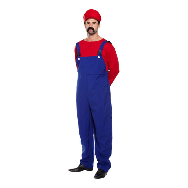 Super Mario Budget Maskeraddräkt - One size