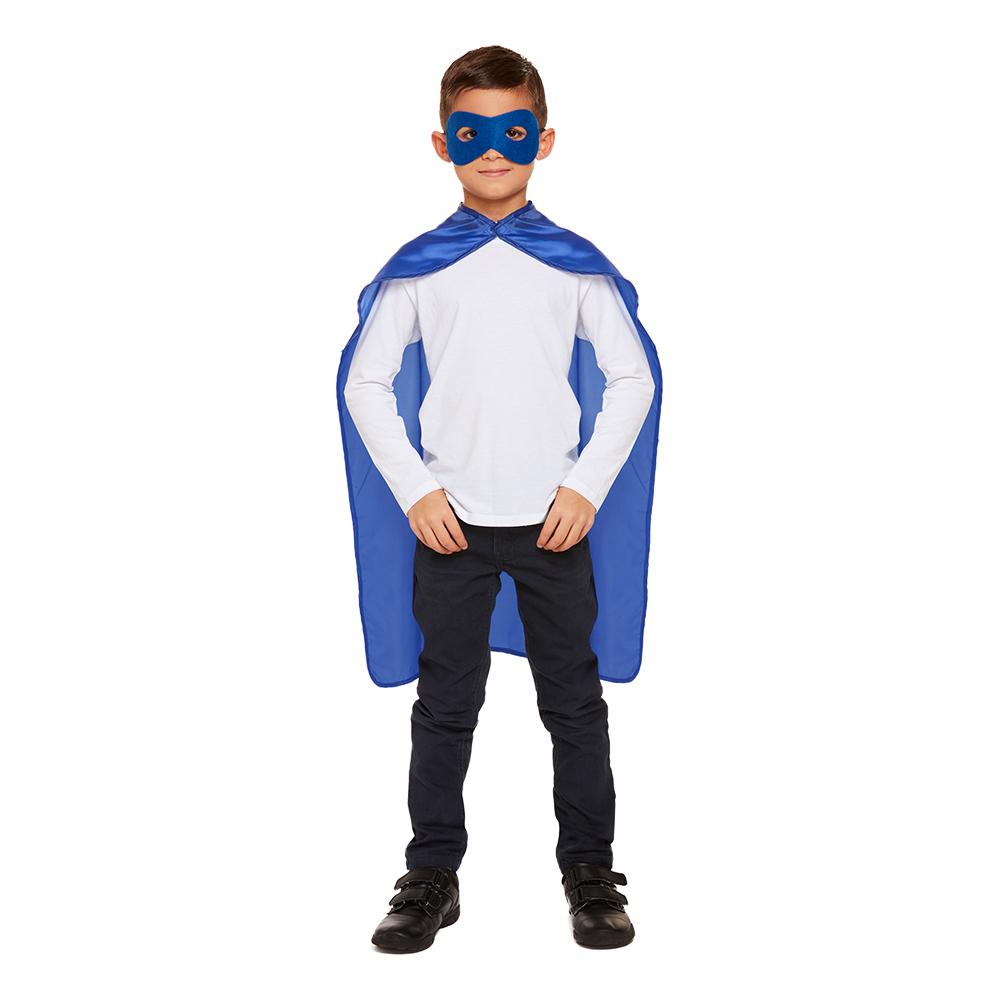 Superhjälte Kit för Barn Blå
