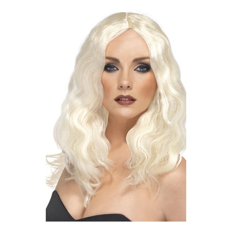 Superstar Blond Peruk - One size