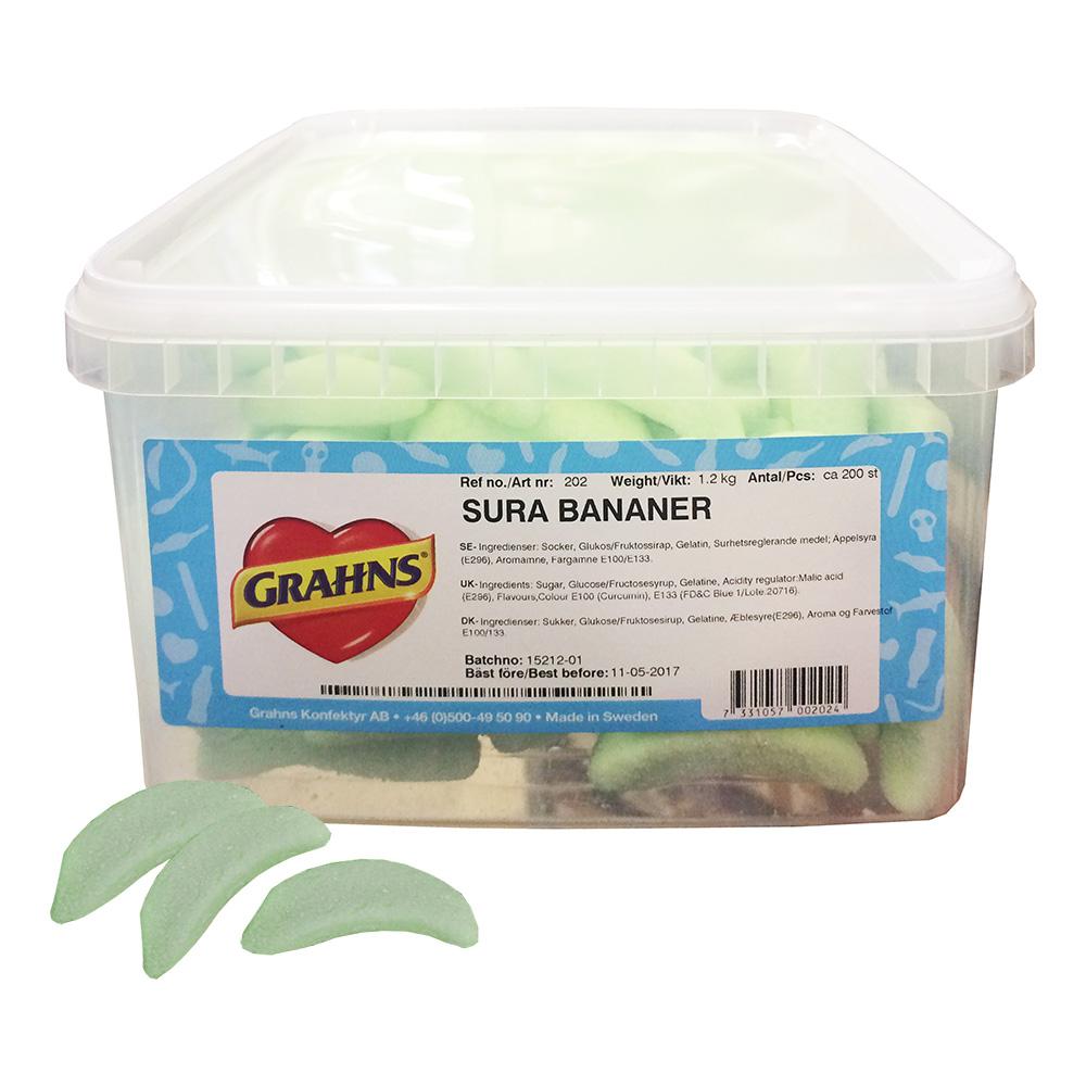 Sura Bananer - 1.2 kg