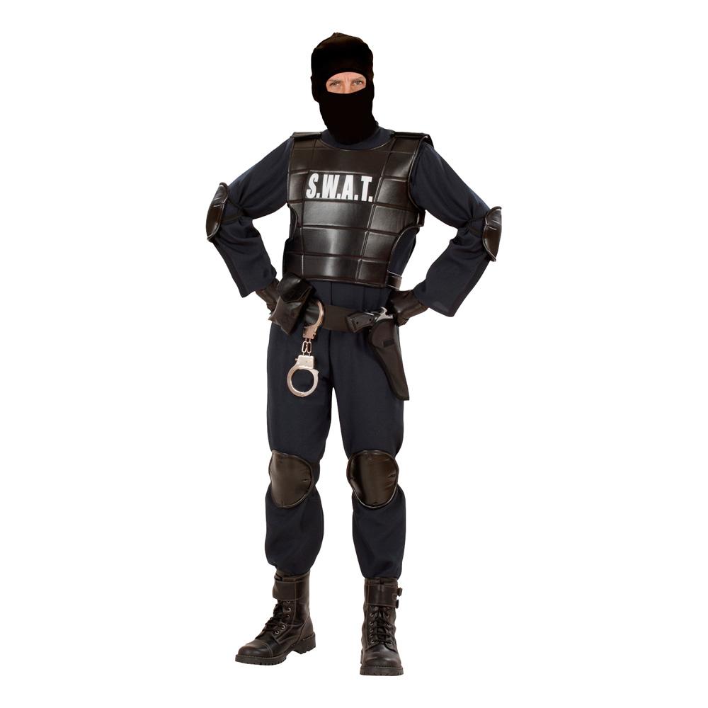 S.W.A.T. Officer Maskeraddräkt - Small