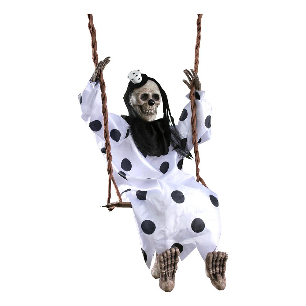 Gungande Skelett Prop - Clown