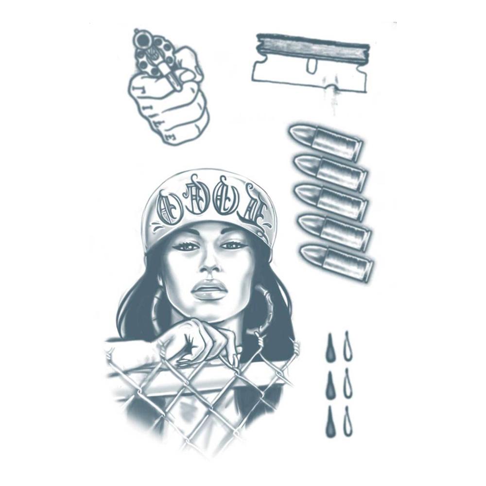 Tatueringar Fängelse - 5-pack