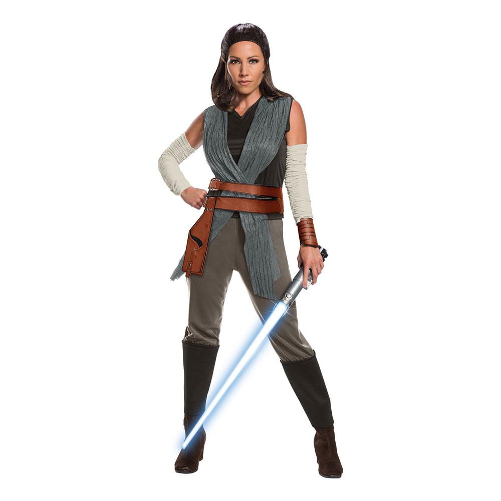 The Last Jedi Rey Deluxe Maskeraddräkt - Medium
