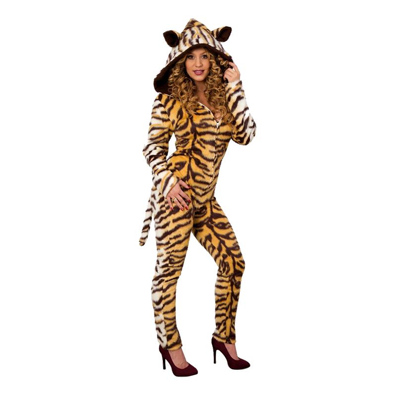 Tiger Catsuit Maskeraddräkt - 34