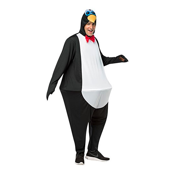 Tjock Pingvin Maskeraddräkt - One size