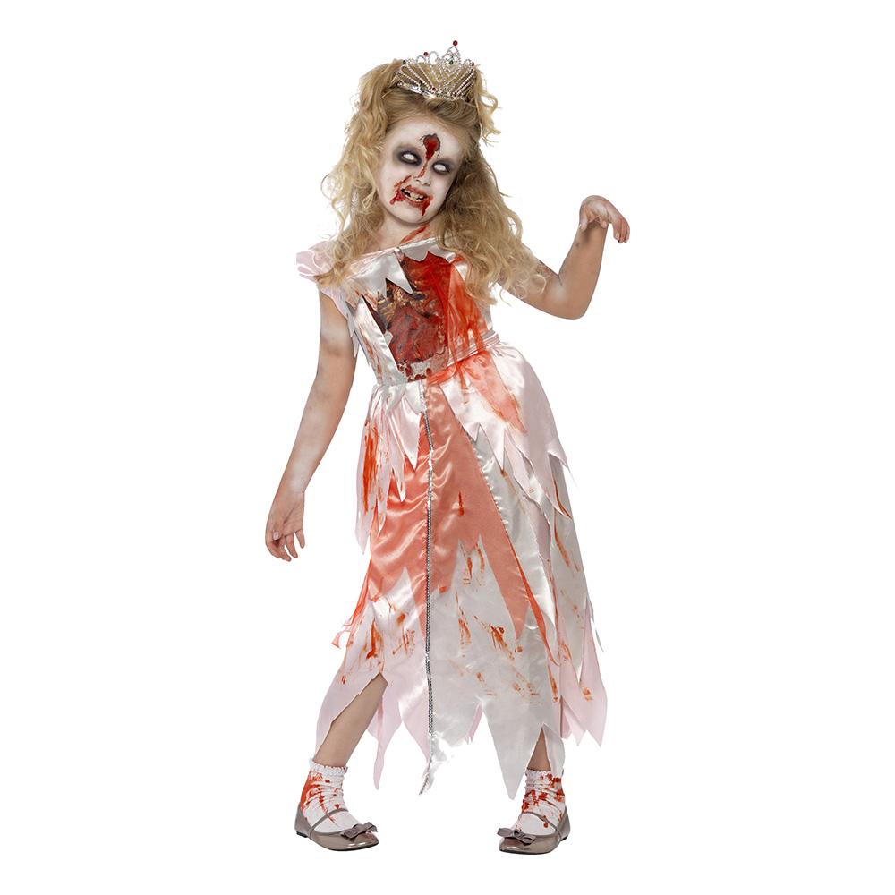 Törnrosa Zombie Barn Maskeraddräkt - Small