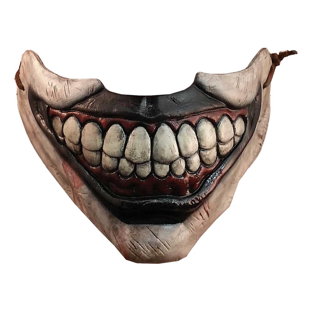 Twisty the Clown Mun Halvmask - One size
