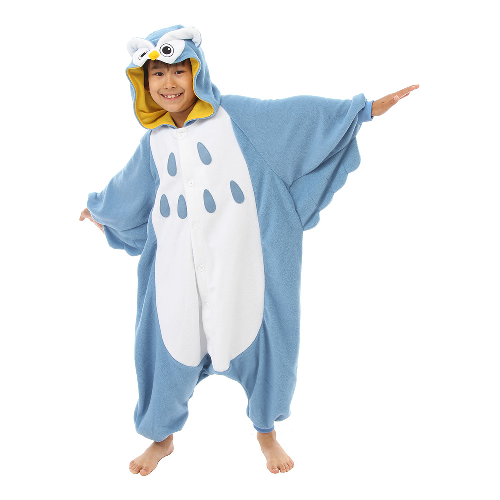 Uggla Barn Kigurumi - Medium