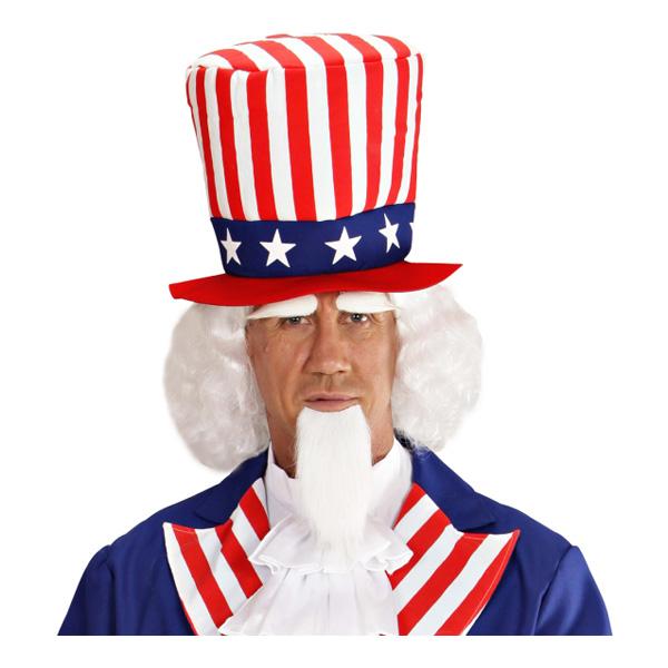 Uncle Sam Perukset - One size