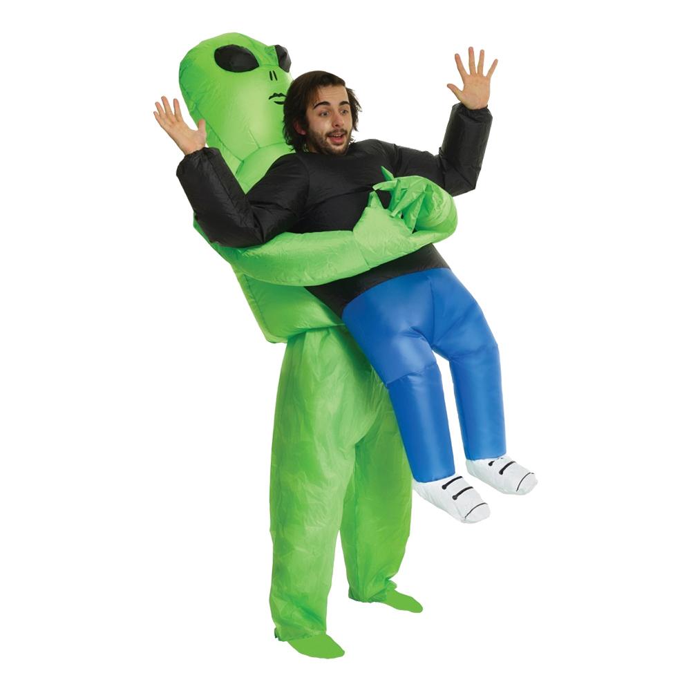 Maskeradkläder Vuxna - Uppblåsbar Bärande Alien  - One size