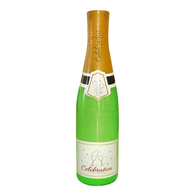 Uppblåsbar Champagneflaska - 180 cm