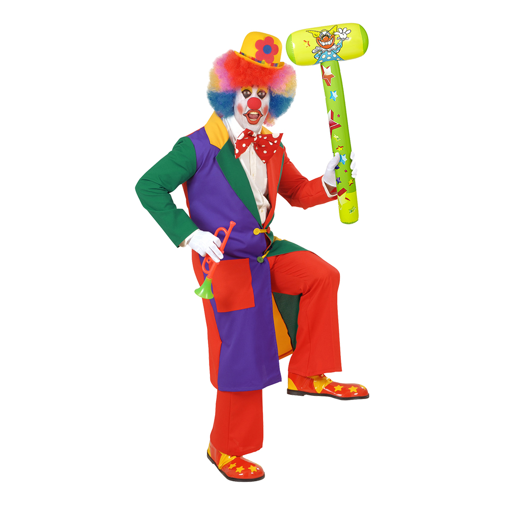 Uppblåsbar Clownhammare