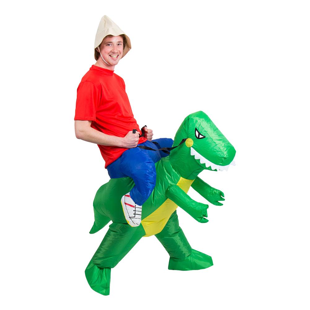Uppblåsbar Dinosaurie Maskeraddräkt - One size