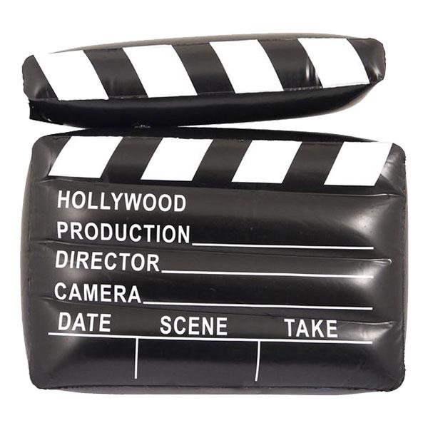Uppblåsbar Filmklappa Hollywood