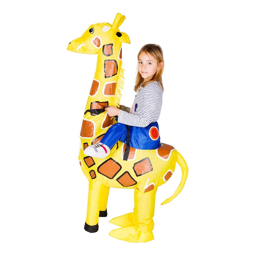 Uppblåsbar Giraff Barn Maskeraddräkt - One size