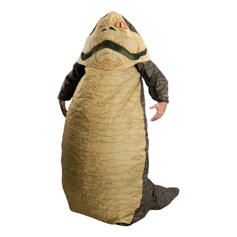 Uppblåsbar Jabba the Hutt Maskeraddräkt - One size