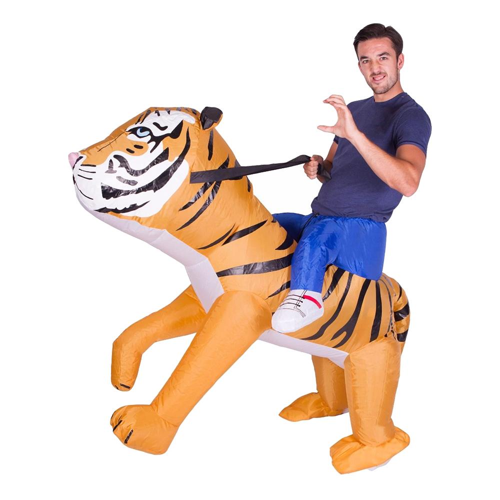 Maskeradkläder Vuxna - Uppblåsbar Tiger