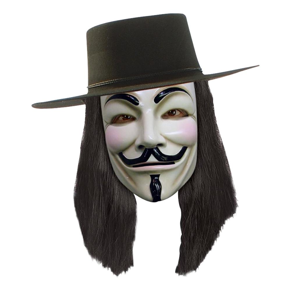 V for Vendetta Peruk - One size