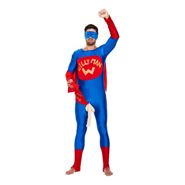 Välhängd Superhjälte Maskeraddräkt - One size