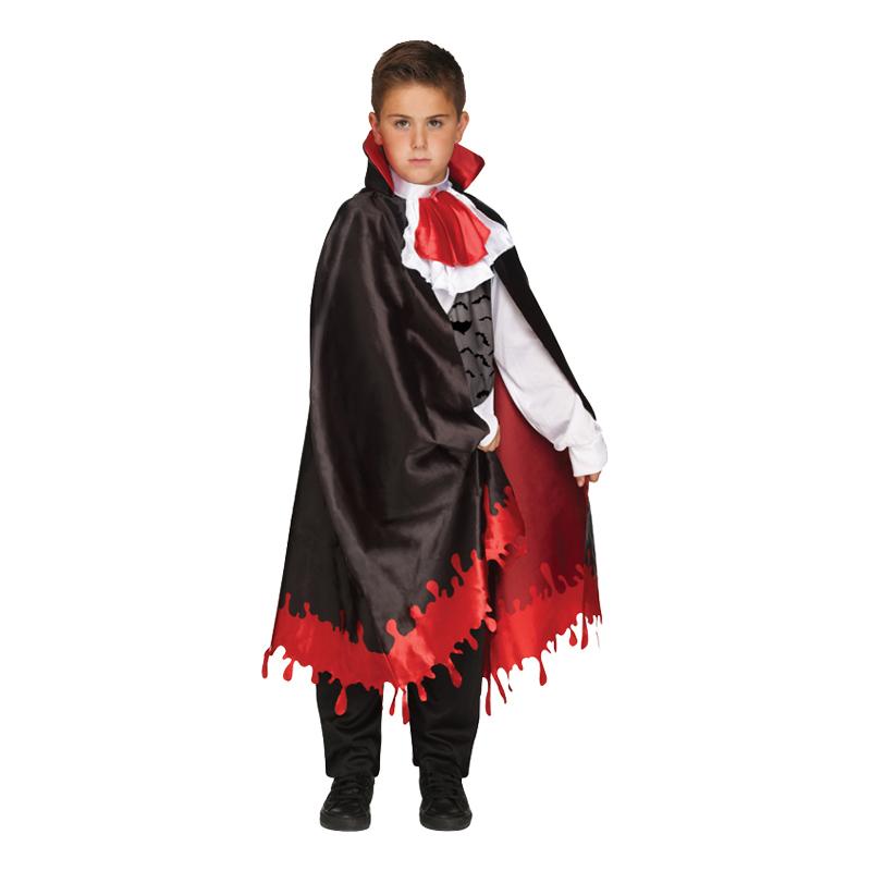 Vampyr med Blod Barn Maskeraddräkt - Large