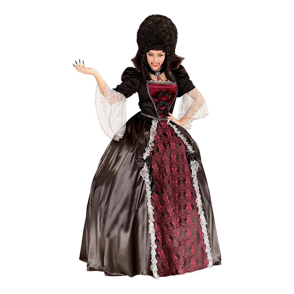 Vampyra Drottning Maskeraddräkt - Medium