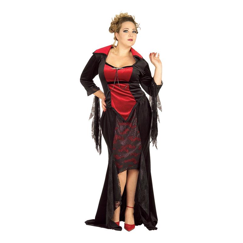 Vampyra Plus-size Maskeraddräkt - Plus size