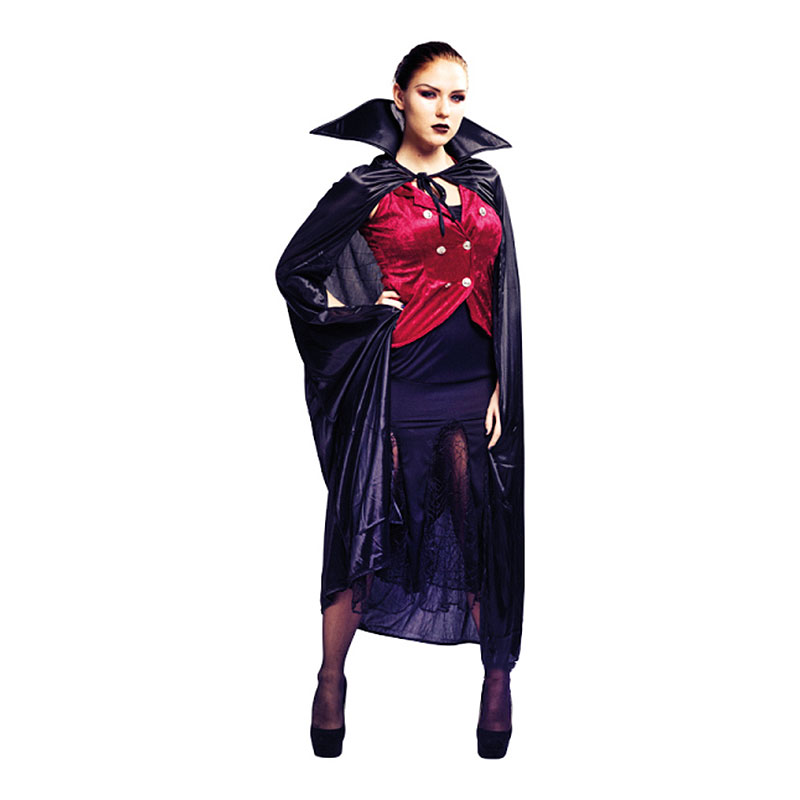 Vampyraklänning Maskeraddräkt - One size
