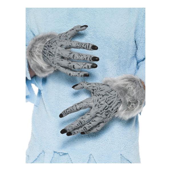 Varulvshänder Grå - One size