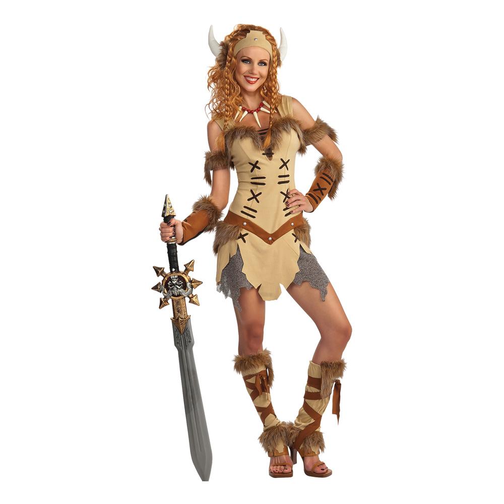 Maskeradkläder Vuxna - Viking Prinsessa  - One size