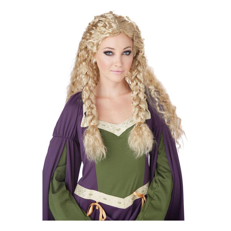 Vikingadam Blond Peruk - One size