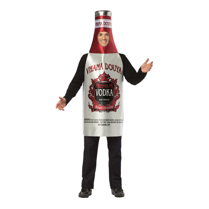 Vodkaflaska Maskeraddräkt - One size