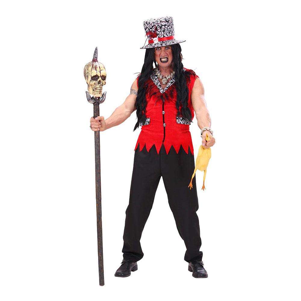 Voodoo Präst Maskeraddräkt - Small