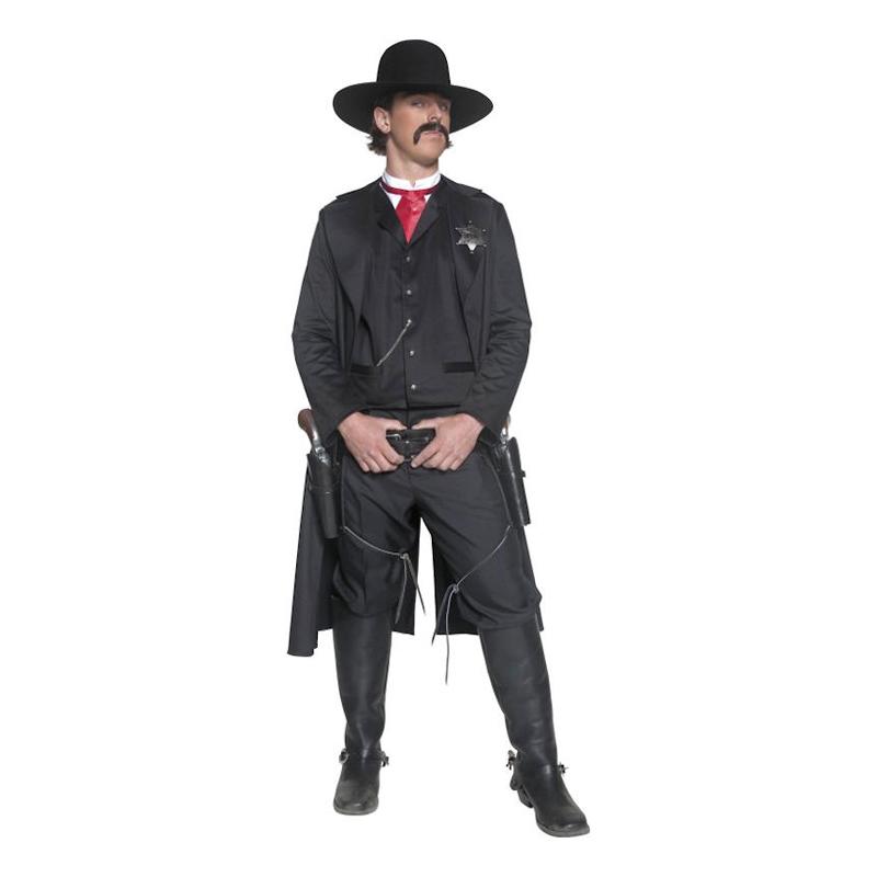 Vilda Västern Sheriff Maskeraddräkt – One size 3d4b7a6799c78