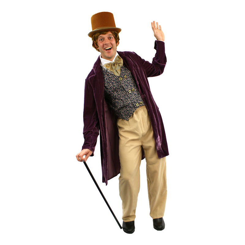 Willy Wonka Budget Maskeraddräkt - One size
