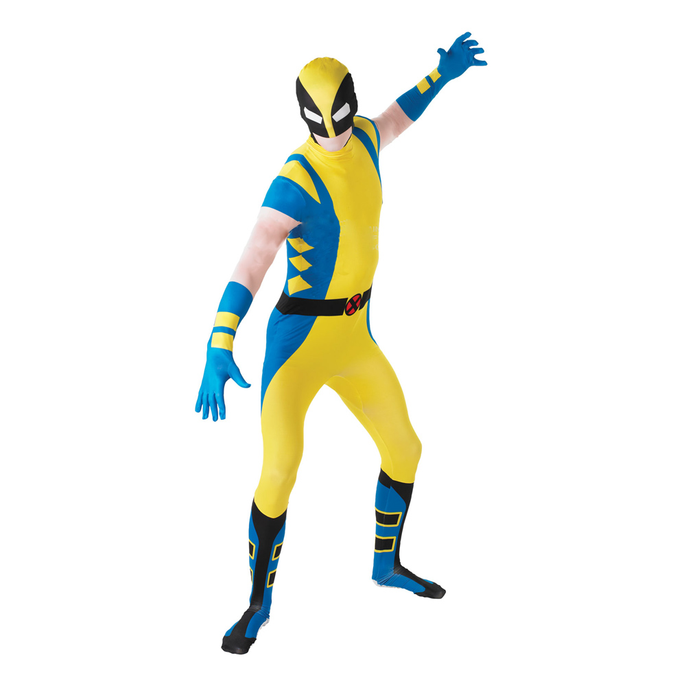 Wolverine Second Skin Maskeraddräkt - Medium