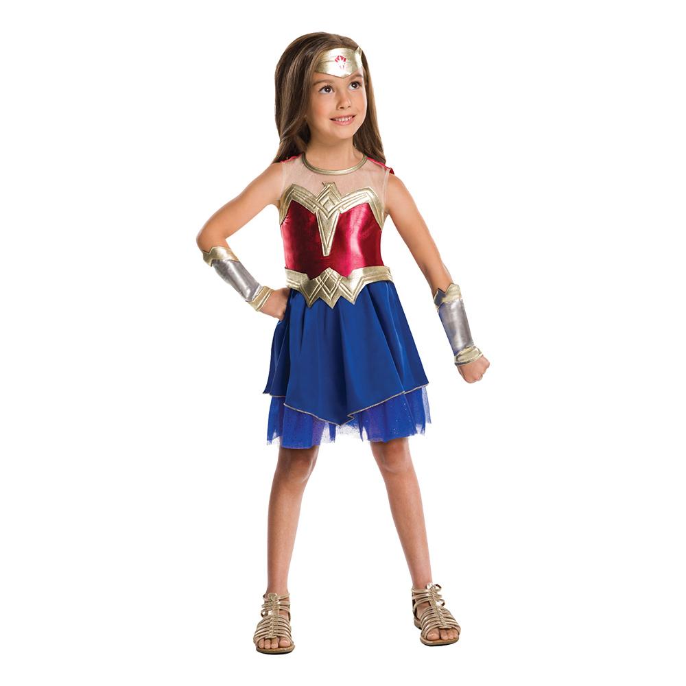 Wonder Woman Justice League Barn Maskeraddräkt - Large