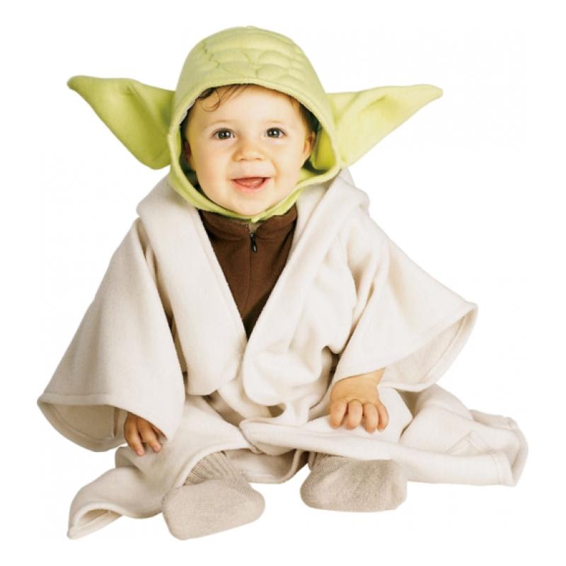Yoda Bebis Maskeraddräkt - One size