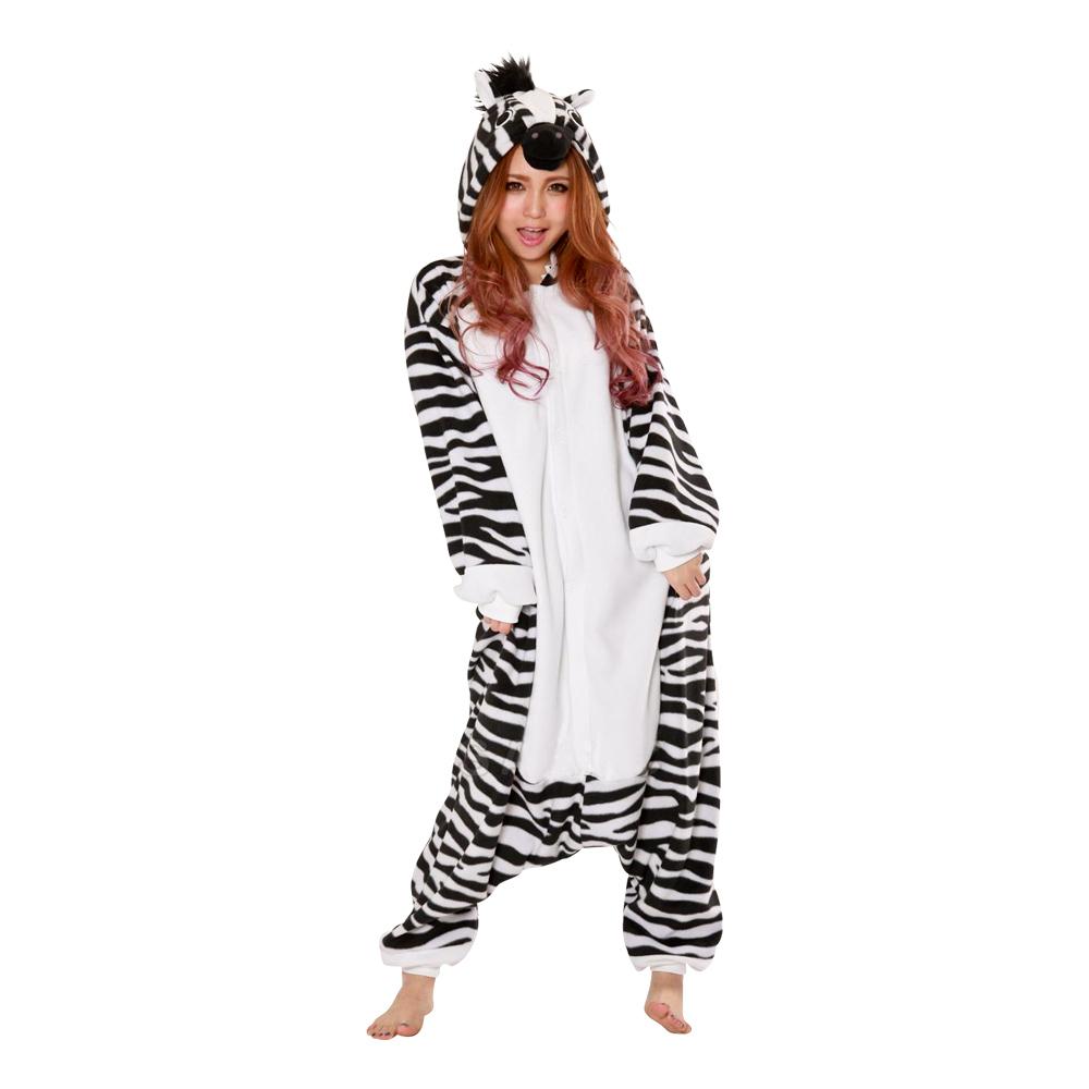 Zebra Kigurumi - Medium