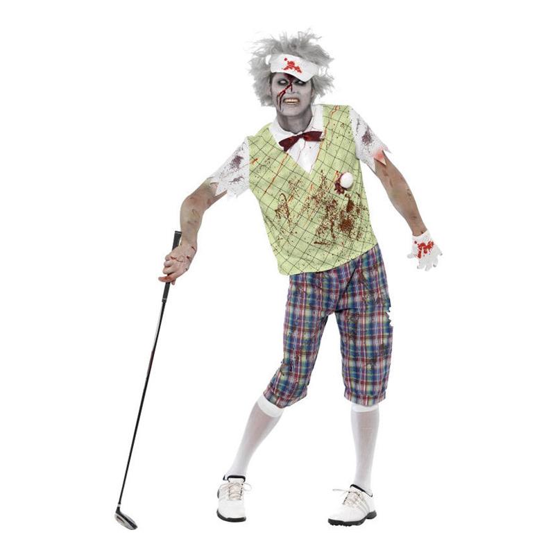 Zombie Golfare Maskeraddräkt - Medium