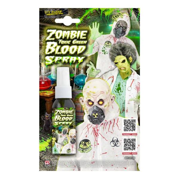 Zombiegrön Blodspray