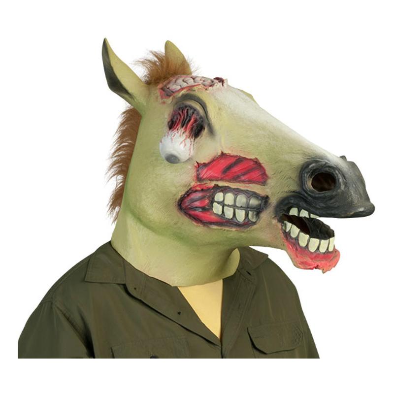 Zombie Hästmask - One size