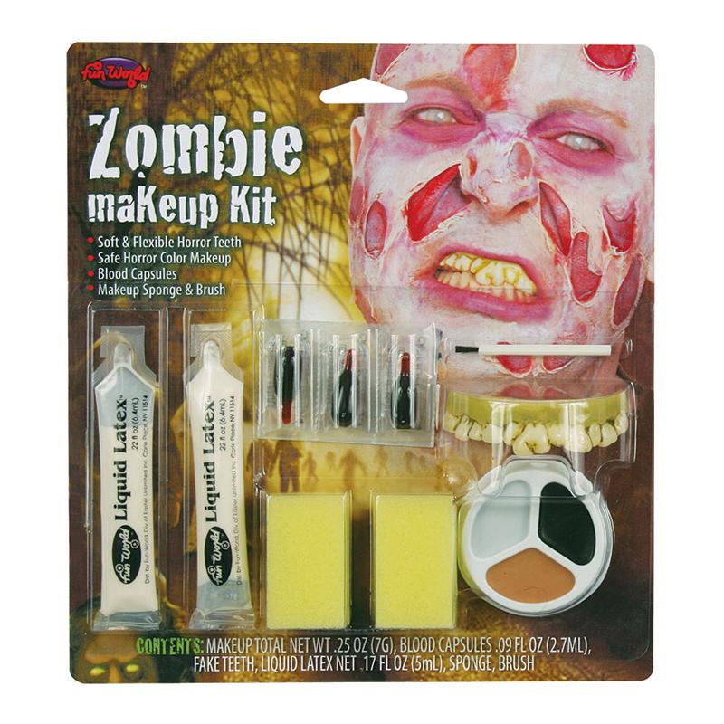 Zombie Man Sminkset